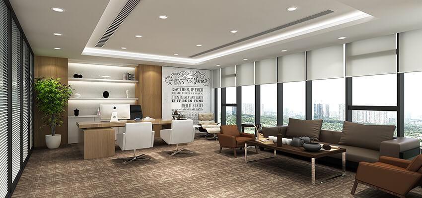 上海总经理办公室装修设计轮播图