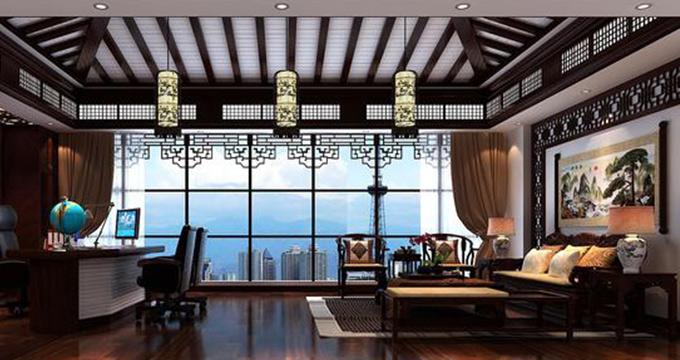 上海办公室装潢中国风误区-上海齐建装饰