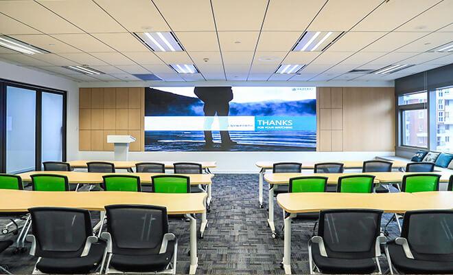 上海星瀚律师事务所室内办公空间装修设计效果图
