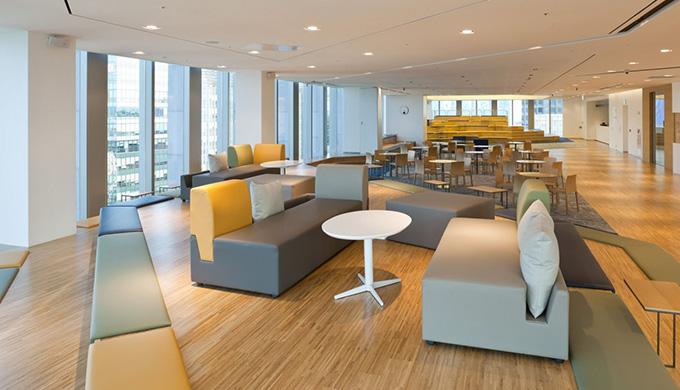 上海办公室装修空间有哪些常见的分类形式?