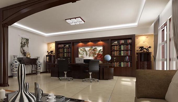 上海办公室五行属性装修的风水学