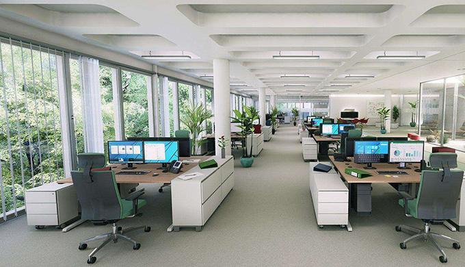 上海办公室装修设计中节能环保的秘密