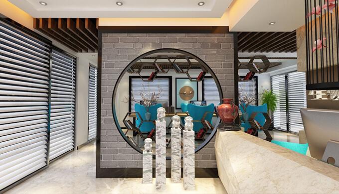 上海新中式风格办公室装修设计的概念有哪些