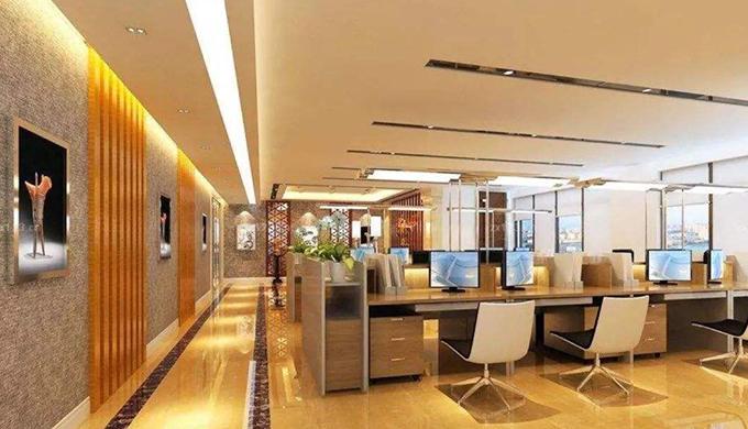 上海办公室装修防热设计基本原则