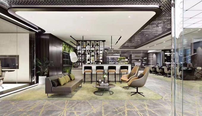 上海高档办公室空间装修设计是怎样的?