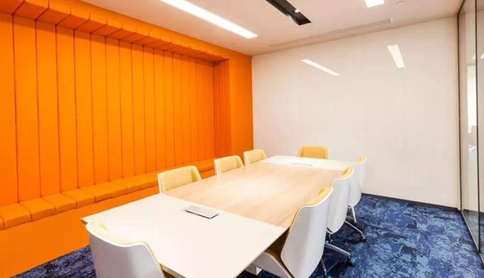 上海办公室装修色彩是怎样设计的?
