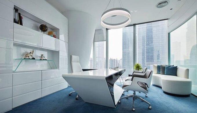 2020年个性化设计需求的办公室空间装修方案