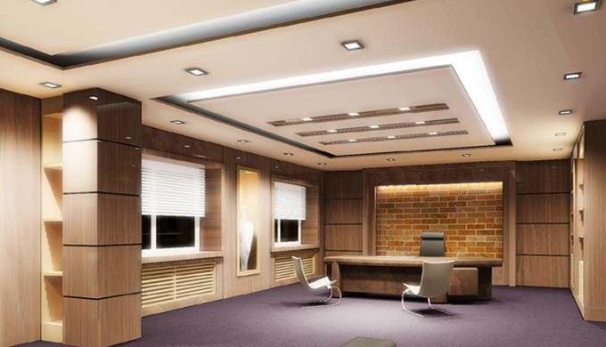 上海办公室装修隔音板材料的运用设计