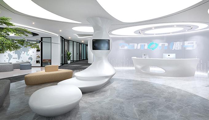 关于上海办公室前台装修设的重要性
