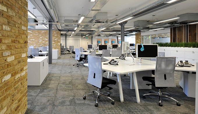 上海网游科技办公室装修常用材料有哪些?