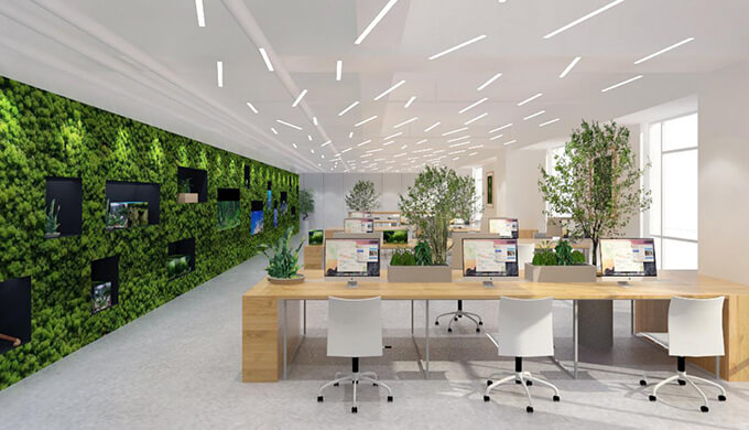 上海办公室灯光设计装修的重要性体现在哪?