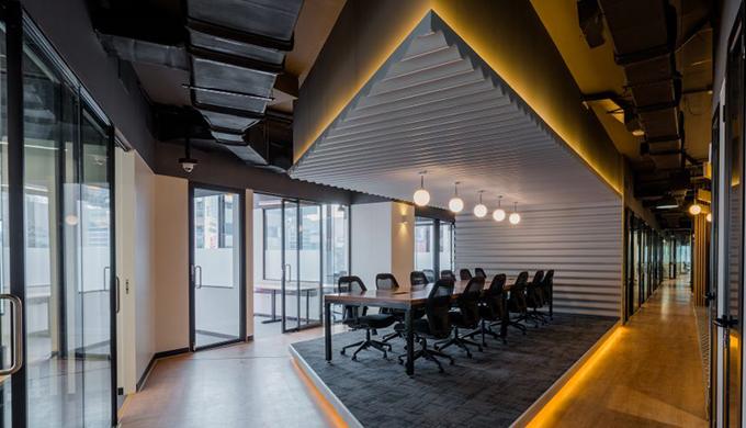 上海办公室顶棚装修设计详解