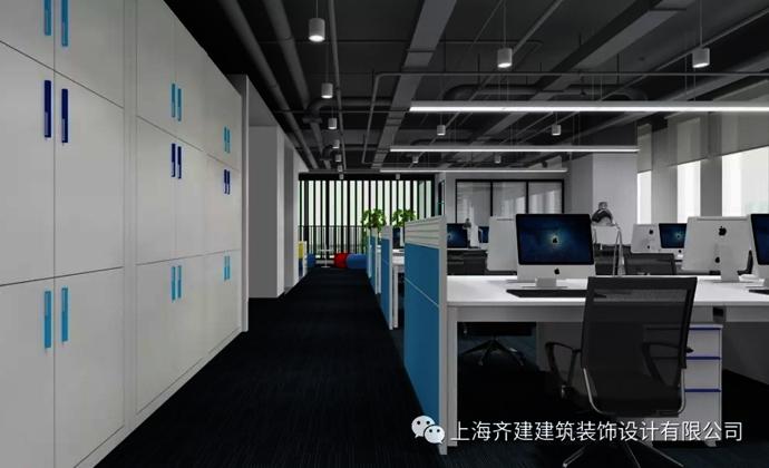 上海青蓝管理咨询办公室装修