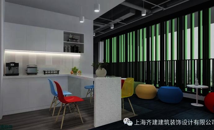 上海青蓝咨询管理办公室茶水间装修设计