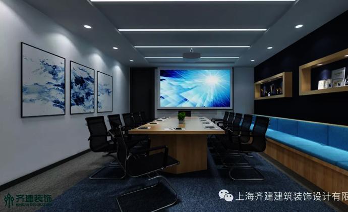 上海青蓝管理咨询公司办公会议室