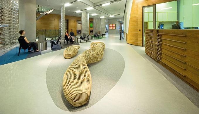 上海办公室装修塑料地板施工工艺