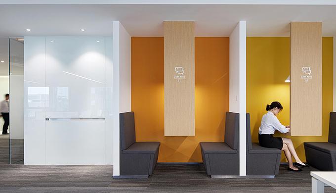 上海办公室色彩设计对装修的调节作用