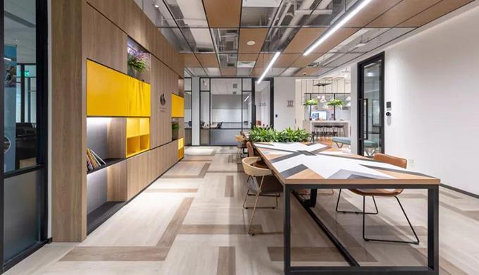 上海室内办公室装修标准费用_齐建装饰