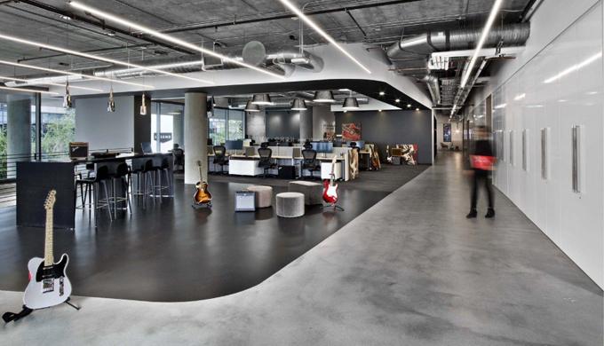 2021年简约风上海办公室装修设计方案