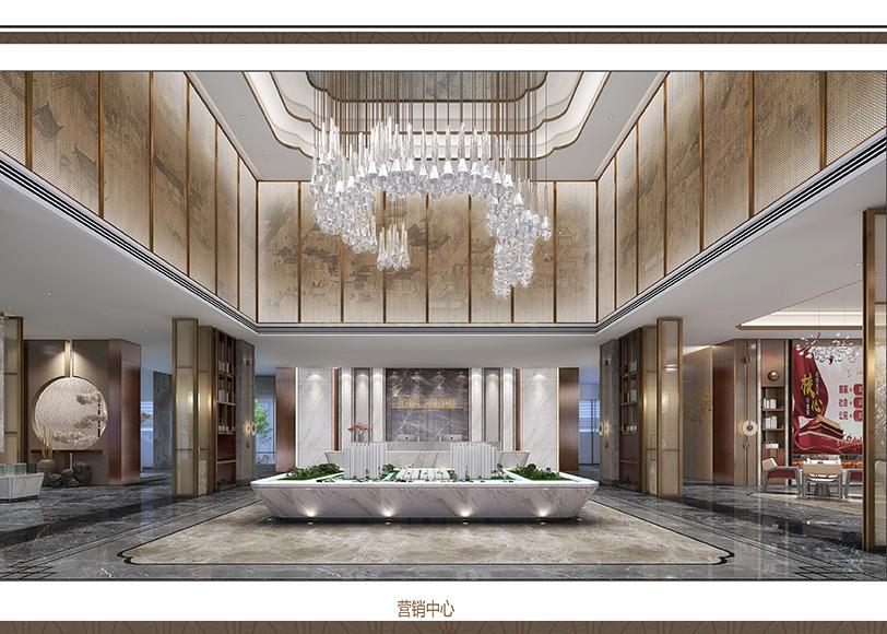 上海办公室装修公司和顺麓山樾售楼处项目案例