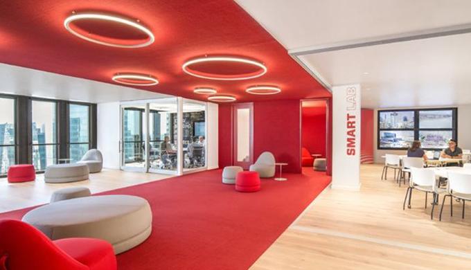 上海办公室高端装修品牌材料的选择