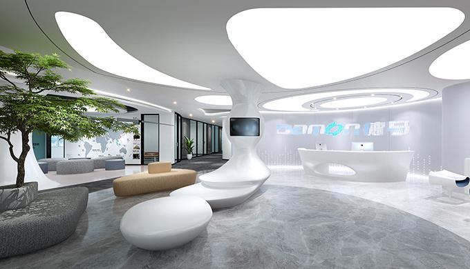 上海物流科技办公室装修案例哪家装修公司做的好