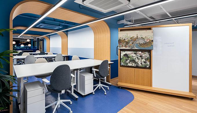 上海海派设计办公室装修公司