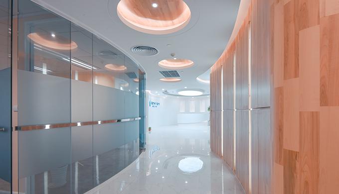 上海律师事务所高端大气办公室装修设计