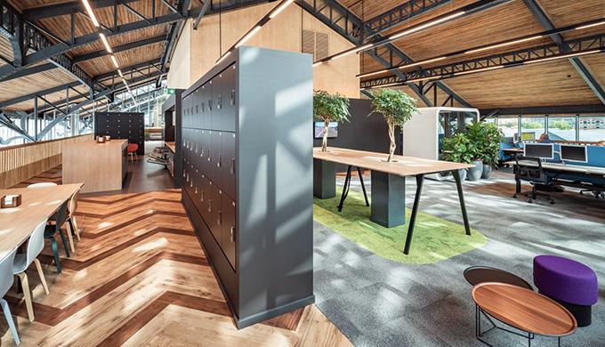 上海办公室空间的界面装修概论