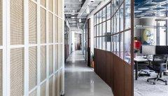 上海办公室空间侧界面的装