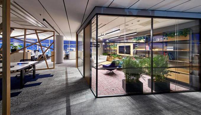 上海1000平方米办公室专业装修公司推荐