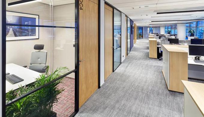 上海办公室装修公司对办公空间各区域装修设计情况概述