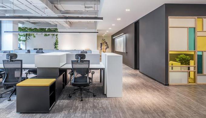 上海小微企业小型办公室怎么装修才能显现出更大更气派的效果?