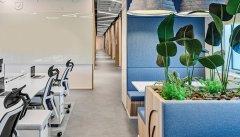 上海1600平方米办公室装修设