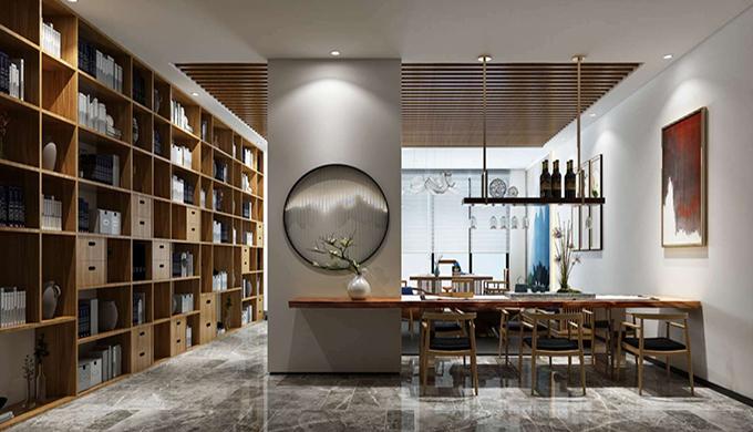 上海中式风格办公室装修设计