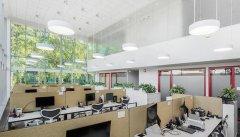 上海室内办公室装修空间照