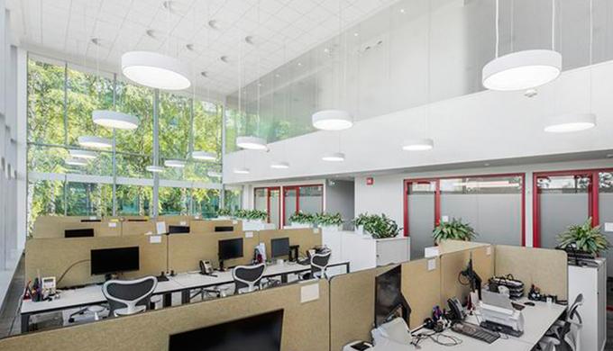 上海室内办公室装修空间照明的方式