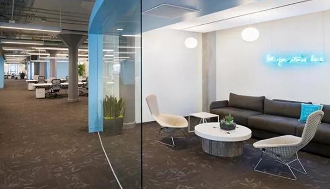 上海小型办公室装修空间分区设计原则