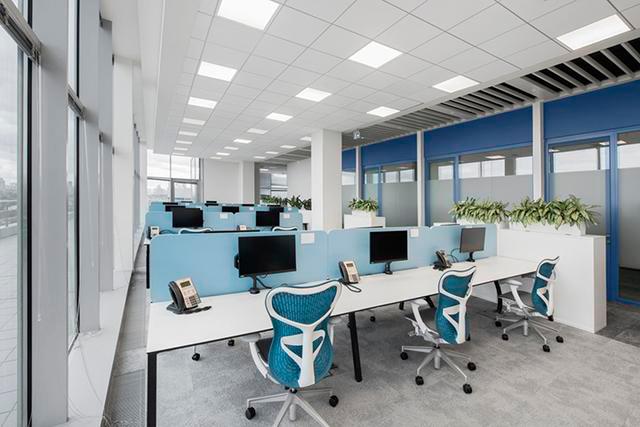 上海办公室装修软装饰的对比设计手法介绍