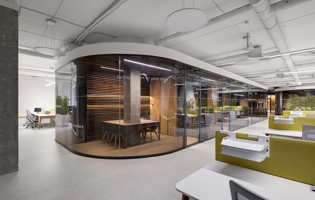 上海办公室装修公司的平面布置图设计标准