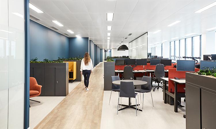 上海办公室装修地面装饰设计的要求