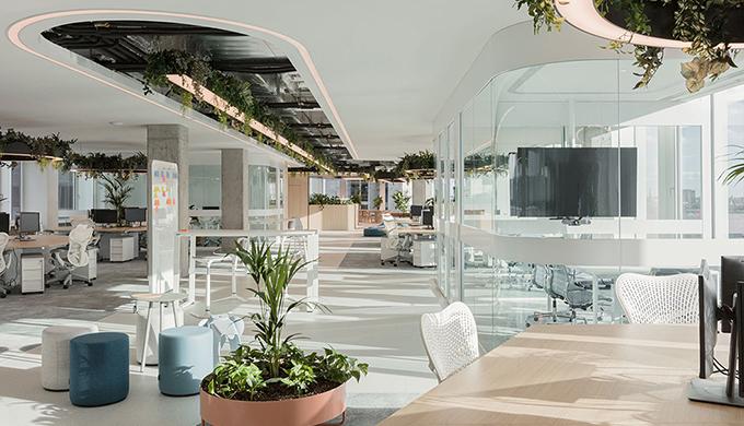 上海小型办公室装修绿化的应用
