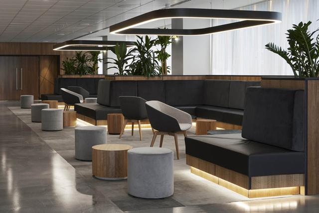 上海办公室装修照明设计的布局形式有哪些?