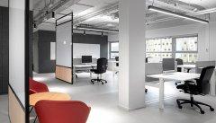 上海办公室装修立面图设计